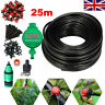 25M Garden Plant Automatic Drip Irrigation System Kit Timer Self Watering Hose