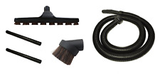 6 FT Vacuum Hose, Wands, Floor Brush, and Dusting Brush for Craftsman Shop Vac