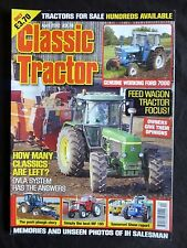 Classic Tractor, April 2012, Memories of an IH salesman, Ford 7000, MF185,