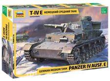Zvezda #3641German Medium Tank Panzer IV Ausf.E 1/35 (5 pcs) NEW 2018!