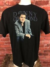 Donny Osmond Double Sided 2003 US Tour T-shirt Size 2XL -F206