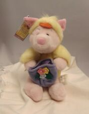 POOH BEAR Piglet as Baby Chick and Easter Basket, A Very Pooh Easter, 10-inch