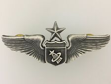 "GENUINE U.S. Air Force SENIOR Astronaut metal wings full size 3"" NASA/Space"
