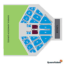 Elton John Rochford Wines 1st Feb 4 x reserved tickets in section 3 row s