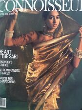 Connoisseur Magazine The Art Of The Sari April 1986 100717nonrh