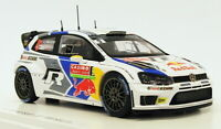 Spark 1/43 Scale S3359 - Volkswagen Polo R WRC #8 - 2nd Monte Carlo 2013