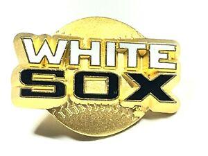 Chicago White Sox MLB Baseball 1998 Peter David Gold Logo Collectible Pin