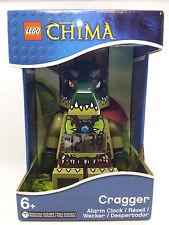 CRAGGER ALARM CLOCK legends of chima lego MISB legos NEW minifigure minifig
