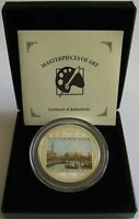 Cook-Inseln 20 Dollars 2011 Masterpieces of Art Canaletto 3 Oz Silber