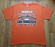 San Francisco Giants 2010 World Champions t-shirt (L) Torture Never Felt So Good