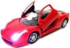 FERRARI 458 AUTOMATIC DOORS FUNCTION CAR RADIO REMOTE CONTROL LED RED 1:16 CAR