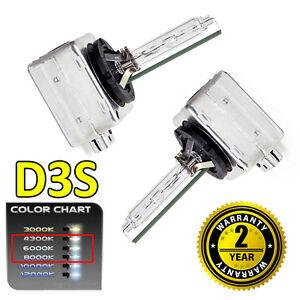 2 x 6000k D3S HID Xenon OEM Replacement Headlight Bulbs 66340 - 2 Year Warranty