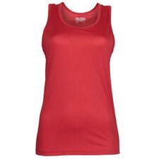 Abbigliamento sportivo da donna rosso fitness taglia M