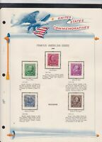 united states commemoratives famous american educators 1940 stamps page ref18259