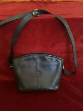 Sac à bandoulière LONGCHAMP en cuir noir lisse shoulder bag leather LONGCHAMP
