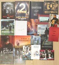 ASIAN CINEMA 20 PRESSBOOKS Parasite Kateshi Kitano Jia Zhangke Shinya Tsukamoto