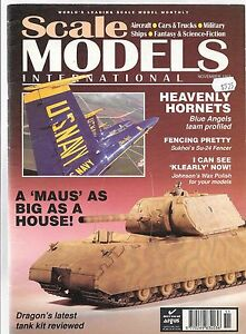 Scale Models International NOV 1993 in VG, Maus and Blue Angels Articles