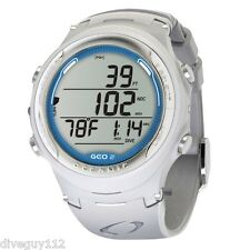 Oceanic GEO 2.0 Dive Computer Scuba Wrist Watch New WHT/SLBL