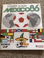 PANINI  MEXICO 86 World Cup  -  EMPTY Sticker Album  -  Very Good Condition