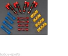 Integy Heavy Duty Piggyback Shock Set Traxxas 2WD Slash Red INTT7890R