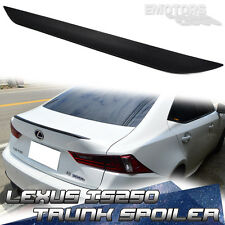 PAINTED COLOR FOR LEXUS IS250 4DR REAR BOOT TRUNK LIP SPOILER PUF 2014-2016