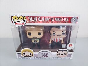 Funko Pop! WWE Million Dollar Man Ted Dibiase & I.R.S Walgreens Exclusive New