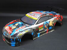 "RC CAR Carrozzeria 1:10 ""NISSAN GTR"" in vernice MANGA LARGA 190mm # hx037"