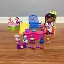 DOC MCSTUFFINS Clinic Doll House Furniture Figures Talking REPLACEMENT PARTS