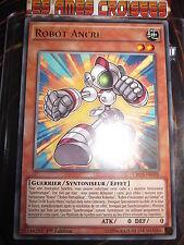 YU-GI-OH! RARE ROBOT ANCRE CROS-FR098 EDITION 1 NEUF