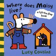 Where Does Maisy Live?: A Lift-the-Flap Book-ExLibrary