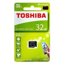 Toshiba M203 32GB 100MB/s Class 10 Micro SDHC SD TF Card UHS-I THN-M203K0320C4