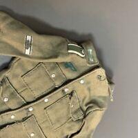1/6 Scale WWII German Officers Uniform Tunic Jacket For 12'' Gi Joe Dragon DID