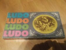 Vintage 1981 H P Gibsons Ludo board game, complete.