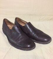 John Varvatos Brown Leather Shoes Loafers Men Size 10