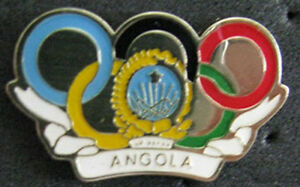 LONDON '12 Olympic ANGOLA  NOC Internal team  delegation internal pin