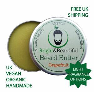 Natural Organic & Vegan Super Soft Premium Quality Bedtime Beard Butter 60ml