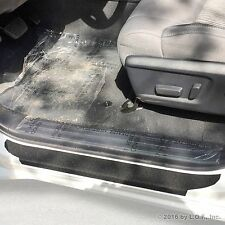 2014-2017 Toyota Tundra Crew Max 4pc Door Step Sill Protector Shield Pads Custom