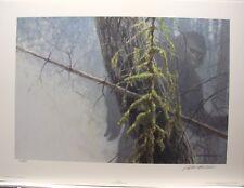 "Robert BATEMAN "" Sasquatch "" LTD Art Print Yeti Big Foot MINT Abominable Snowman"