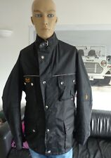 "BELSTAFF Motorbike Jacket for Men. VGC. Size XXL, 48"" Chest. Black"