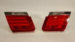 2009-2012 BMW 750I 740I 760I TAIL LIGHT PASSENGER DRIVER INNER LED LAMP OEM