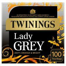 Twinings Lady Grey Tea Bags 100 per pack