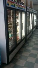 Used True 3-Glass Door Merchandising Refrigerator Gdm-72 Commercial Refrigerator