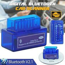 Mini Bluetooth Car Scanner OBD2 ELM327 V2.1 Android Torque Auto Scan Tool OBD-II