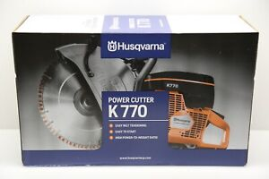 "Husqvarna K770 14"" Power Cutter Saw - BRAND NEW - FREE SHIPPING"