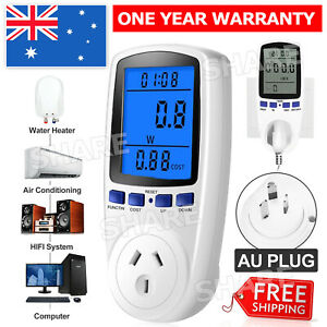 240V Power Watt Meter Energy Monitor Consumption Electricity Usage Equipment AU