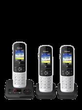 Panasonic KX-TGH723ES Telefone Sem Fio Digital Trio com bloco de chamada