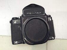 Asahi Pentax 67 6x7 SLR Film Camera Body with New Battery