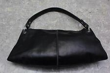Christopher Kon black leather handbag