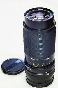 70-210mm ZOOM LENS KIT for your SONY NEX or ALPHA E mirrorless camera   Miranda