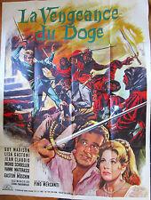 """Affiche cinéma """" LA VENGEANCE DU DOGE """" 120 X  160 cm"""